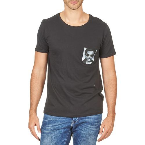 Vêtements Homme T-shirts manches courtes Eleven Paris LENNYPOCK Blanc
