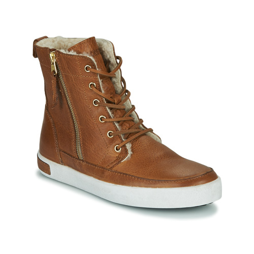 Chaussures Femme Baskets montantes Blackstone CUWU Marron