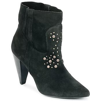 Chaussures Femme Bottines Ikks BOTTINE PAISLEY Noir