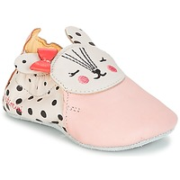 Chaussures Fille Chaussons Catimini REMOULADE VTE ROSE DPF/SOUPLE