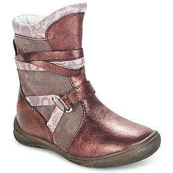 Chaussures Air max tnFille Boots GBB ROSANA Rose / Bordeaux