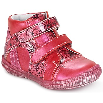 Chaussures Fille Boots GBB ROXANE Framboise