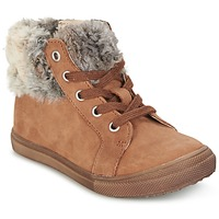 Chaussures Fille Boots GBB ROBERTA Fauve