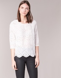 Vêtements Femme Tops / Blouses Betty London GRIZ Blanc
