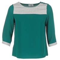 Vêtements Femme Tops / Blouses Casual Attitude HELA Vert