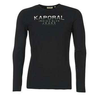 Vêtements Homme T-shirts manches longues Kaporal PONIO Noir