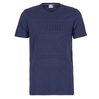 Vêtements Homme T-shirts manches courtes Puma ARCHIVE EMBOSSED LOGO TEE Marine