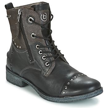 Chaussures Femme Boots Bugatti PIERA Noir / Gris foncé
