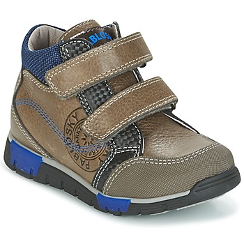Chaussures Air max tnGarçon Baskets montantes Pablosky DENTELY Gris / Bleu