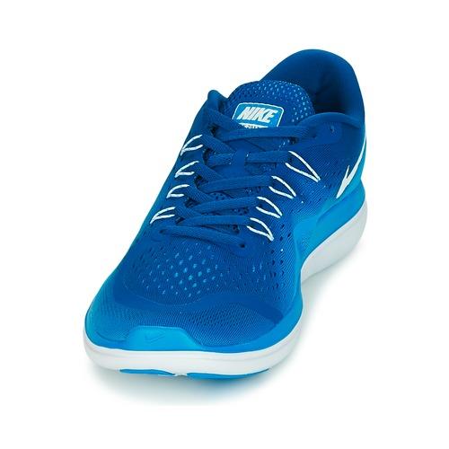 f9323c7056e Synthétique  Nike FLEX 2017 RUN Bleu Nike FLEX 2017 RUN Bleu ...
