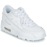 Chaussures Enfant Baskets basses Nike AIR MAX 90 LEATHER PRE-SCHOOL Blanc