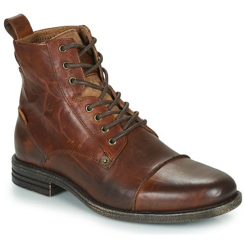 d75ea3b2aec0f5 Levi's EMERSON Marron - Chaussure pas cher avec Shoes.fr ...