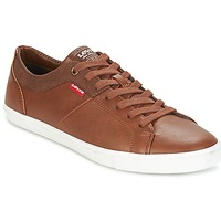 Chaussures Homme Baskets basses Levi's WOODS Marron