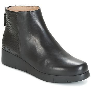 Chaussures Femme Boots Unisa FANI Noir