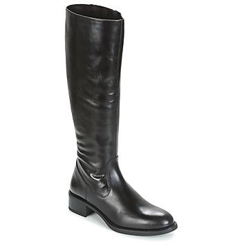 Chaussures Femme Bottes ville Unisa EDUCA Noir