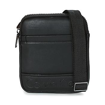 Sacs Homme Pochettes / Sacoches Calvin Klein Jeans BENNET MINI FLAT CROSSOVER Noir