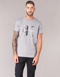 Vêtements Homme T-shirts manches courtes Calvin Klein Jeans TEE RE-ISSUE CN REGULAR FIT TEE SS Gris