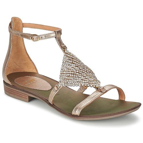 Chaussures Femme Sandales et Nu-pieds Now BRENTA Champagne