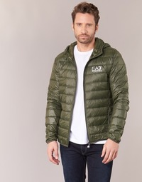 Vêtements Homme Doudounes Emporio Armani EA7 TRAIN CORE ID DOWN LIGHT HD Kaki