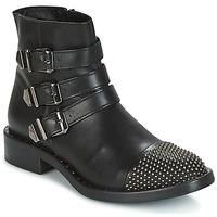 Chaussures Femme Boots Meline LIME Noir