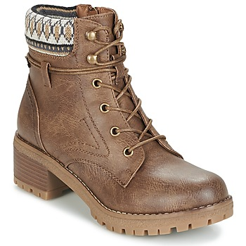 Chaussures Femme Boots Refresh YELLOWSTONE Taupe