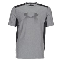 Vêtements Homme T-shirts manches courtes Under Armour UA RAID GRAPHIC SS Gris / Noir