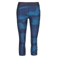 Vêtements Femme Leggings Under Armour UA HG ARMOUR GRAPHIC CAPRI Bleu