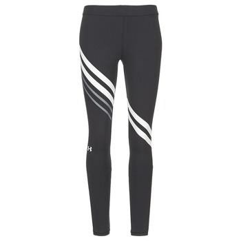 Vêtements Femme Leggings Under Armour FAVORITE LEGGING ENGINEERED Noir / Blanc