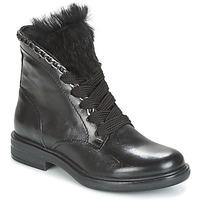 Chaussures Femme Boots Mjus CAFE LACE Noir