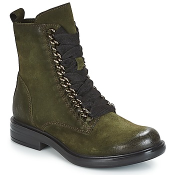 Chaussures Femme Boots Mjus CAFE CHAIN Kaki