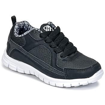 Chaussures Garçon Baskets basses Freegun FG VINO Noir