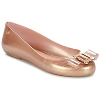 Chaussures Femme Ballerines / babies Melissa VW SPACE LOVE 18 ROSE GOLD BUCKLE Rose Gold
