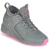 Chaussures Fille Chaussures à roulettes Heelys PIPER Gris / Rose