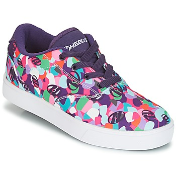 Chaussures Air max tnFille Chaussures Air max tnà roulettes Heelys LAUNCH Violet / Multicolor