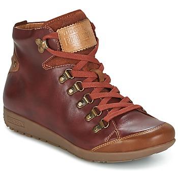 Chaussures Air max tnFemme Baskets montantes Pikolinos LISBOA W67 Marron