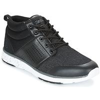 Chaussures Homme Baskets montantes Kappa NASSAU MID Noir / Gris