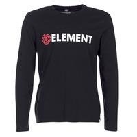 Vêtements Homme T-shirts manches longues Element BLAZIN LS Noir