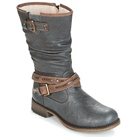Chaussures Femme Bottes ville Mustang ISALBA Gris