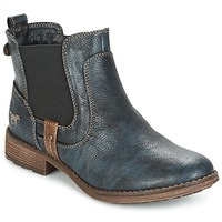 Chaussures Femme Boots Mustang NANI Marine