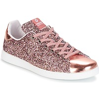 Chaussures Air max tnFemme Baskets basses Victoria DEPORTIVO BASKET GLITTER Rose