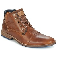 Chaussures Homme Boots Bullboxer MESSI Cognac