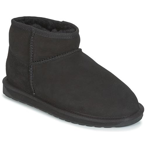 Chaussures Femme Boots EMU STINGER MICRO Noir