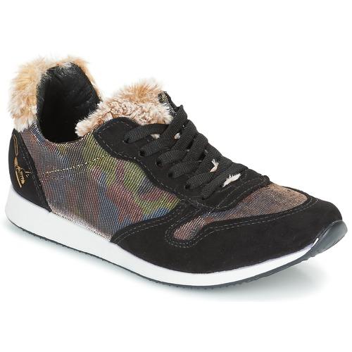 Chaussures Femme Baskets basses Ippon Vintage RUN SNOW Noir / Cuivre