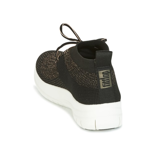 FitFlop UBERKNIT SLIP-ON HIGH TOP SNEAKER Noir / Bronze