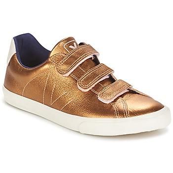 Chaussures Air max tnFemme Baskets basses Veja 3 LOCK Ambre