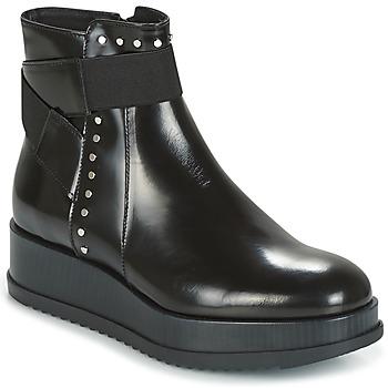 Chaussures Femme Boots Tosca Blu CIVETTA ABRASIVATO Noir