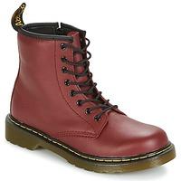 Chaussures Enfant Boots Dr Martens DELANEY Rouge cerise