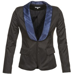 Vêtements Femme Vestes / Blazers Betty London BERTHILLE Noir / Marine