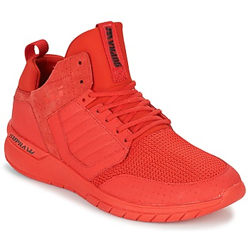 Chaussures Homme Baskets basses Supra METHOD Rouge