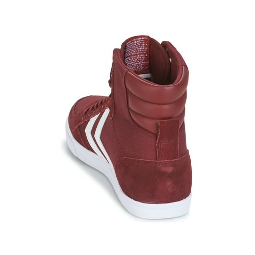 Hummel STADIL CANEVAS HIGH Bordeaux